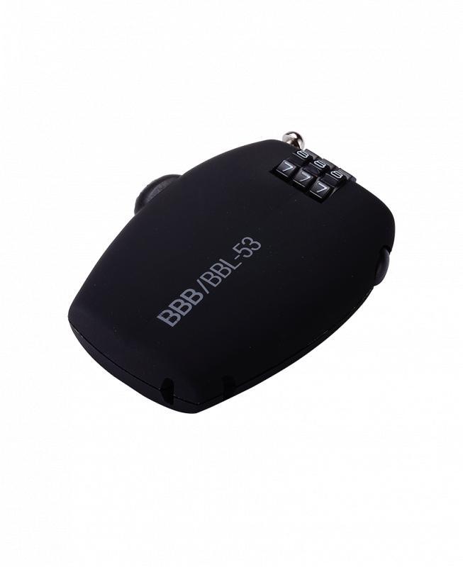 Kompaktný zámok kódový BBB BBL-53 MINICASE 1.6x670mm